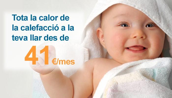 cuida a tu bebé instalando una calefacción de gas natural
