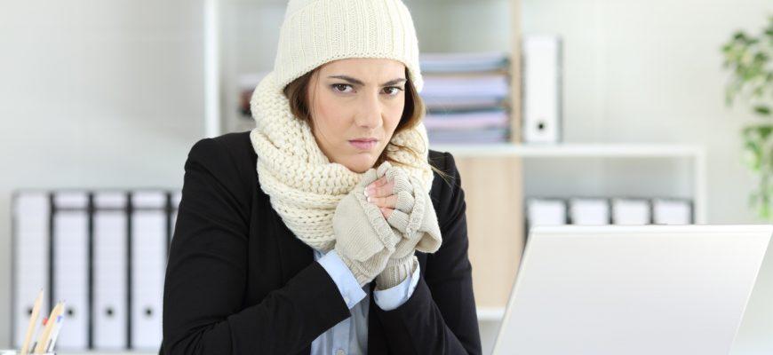 Calefacción en la oficina 2