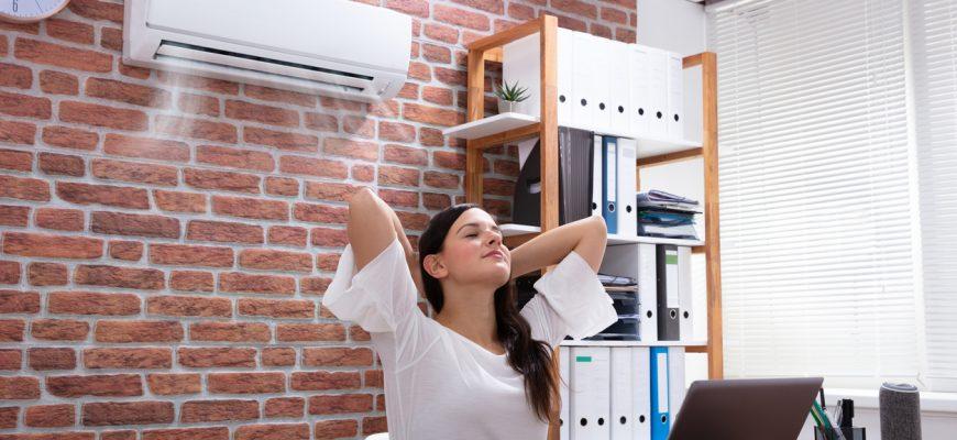 aire acondicionado oficina