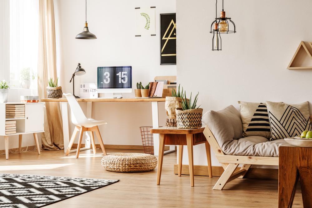 Apartamento con calefacción
