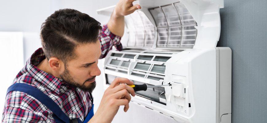 Cómo limpiar un aire acondicionado 1